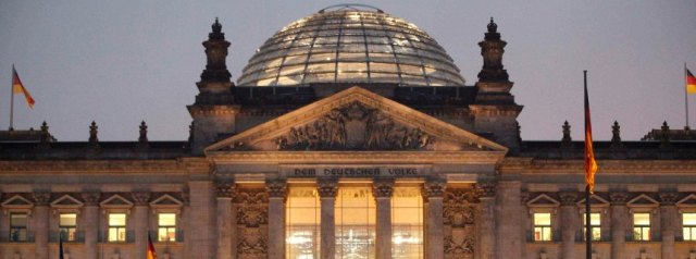 File picture of a general view of the Reichstag building in Berlin
