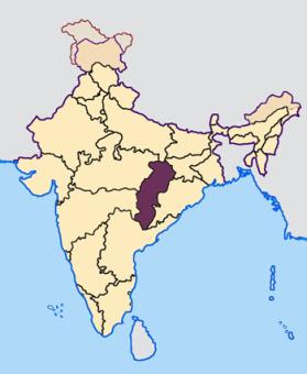 Chhattisgarh_in_India